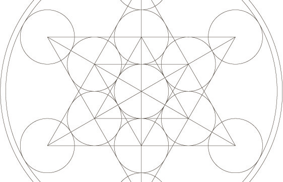 Star of David Sacred Geometry Symbol-Healing Meditative Art-Spiritual Coloring Page Printable-Faith Star