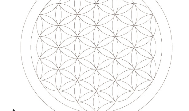 Sacred Geometry Symbols Coloring Book