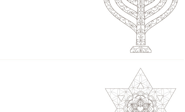 4 shana tovah folded coloring greeting cards haleluya faith menorah 4 shana tovah folded coloring greeting cards m4hsunfo