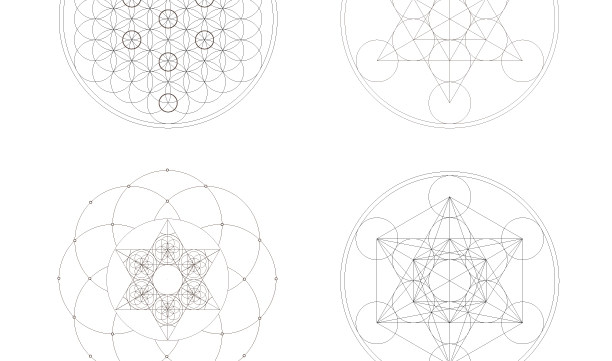 Personalized Kabbalah Sacred Geometry Symbols-1 Printable Coloring Page-Jewish Spiritual Esoteric Elements-INSTANT DOWNLOAD by @zebratoys
