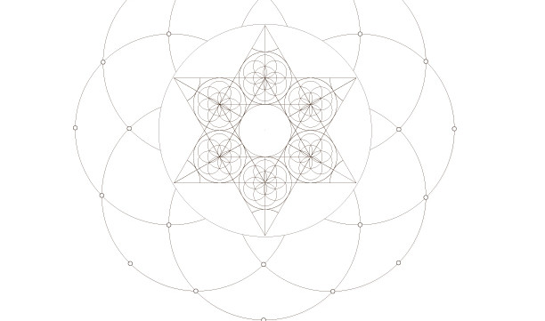 Kabbalah Star of David-Sacred Geometry-Passover Coloring Page-1 Printable Design-Jewish Crafts-Magen David-INSTANT DOWNLOAD by @zebratoys