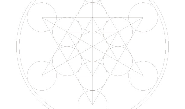 Star Tetrahedron-Sacred Geometry Symbol-Passover Coloring Page-1 Printable Design-Jewish Star Magen David Art-INSTANT DOWNLOAD by @zebratoys