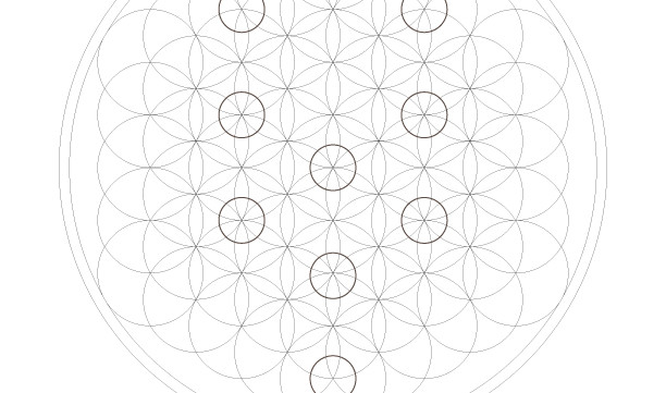The Tree of Life-Kabbalah Ten 10 Sephirot-Etz haChayim-Sacred Geometry Art-Passover Coloring Page-1 Printable-INSTANT DOWNLOAD by @zebratoys