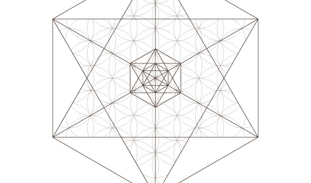Octahedrons Flower of Life Pattern Star-Sacred Geometry-Coloring Page Printable-Energy Healing-INSTANT DOWNLOAD by @HALELUYA Sacred Soul Art