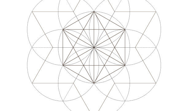 Seed of Life Star of David-Octahedrons-Sacred Geometry Symbols-Energy Healing Art-Coloring Page Printable-INSTANT DOWNLOAD by @HALELUYA
