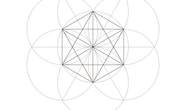 Seed of Life Octahedrons-Sacred Geometry Symbols-Secret Elements-Coloring Page Printable-INSTANT DOWNLOAD by @HALELUYA Sacred Soul Art