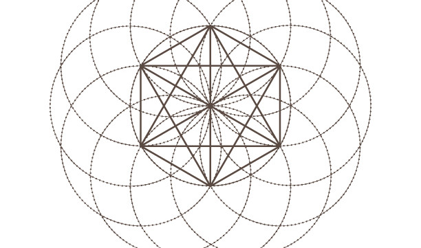Octahedrons Seed of Life-Sacred Geometry Symbols-Spiritual Elements-Coloring Page Printable-INSTANT DOWNLOAD by @HALELUYA Sacred Soul Art