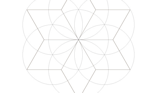 Seed Of Life Star of David-Sacred Geometry Art-Energy Healing Symbols-Coloring Page Printable-Spiritual Prints-INSTANT DOWNLOAD by @HALELUYA