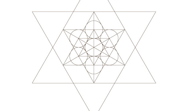 Star Tetrahedron Star of David-Sacred Geometry-Energy Healing Symbol-Coloring Page Printable-INSTANT DOWNLOAD by @HALELUYA Jewish Soul Art