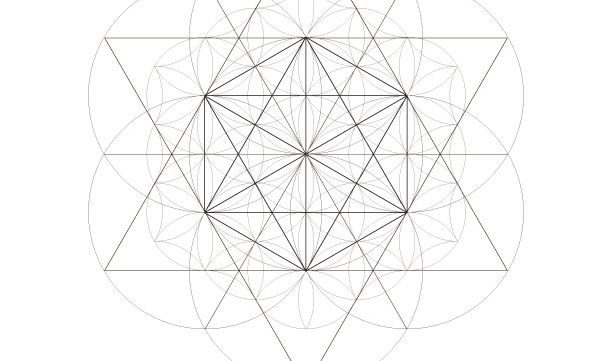 Flower of Life Seed Octahedrons-Sacred Geometry Symbols-Secret Element-Coloring Page Printable-INSTANT DOWNLOAD by @HALELUYA Sacred Soul Art