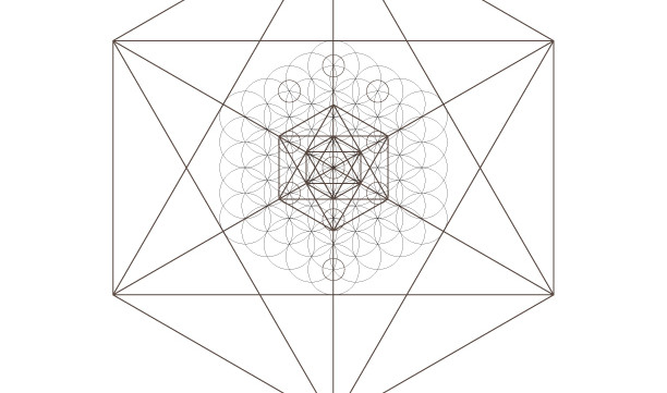 Flower of Life Star Kabbalah Tree of Life Octahedrons-Sacred Geometry-Coloring Page-INSTANT DOWNLOAD by @HALELUYA Jewish Soul Art
