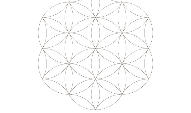Seed of Life-Flower of life Pattern Print-Sacred Geometry Symbols-Coloring Page-Healing Energy-INSTANT DOWNLOAD by @HALELUYA Sacred Soul Art