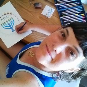 Orit Gutmacher Levy Owner & Designer of HaLeLuYa Jewish Soul Art